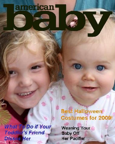 American baby magazine cover