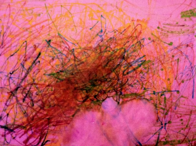 Excitement, in colored marker (2010/11)
